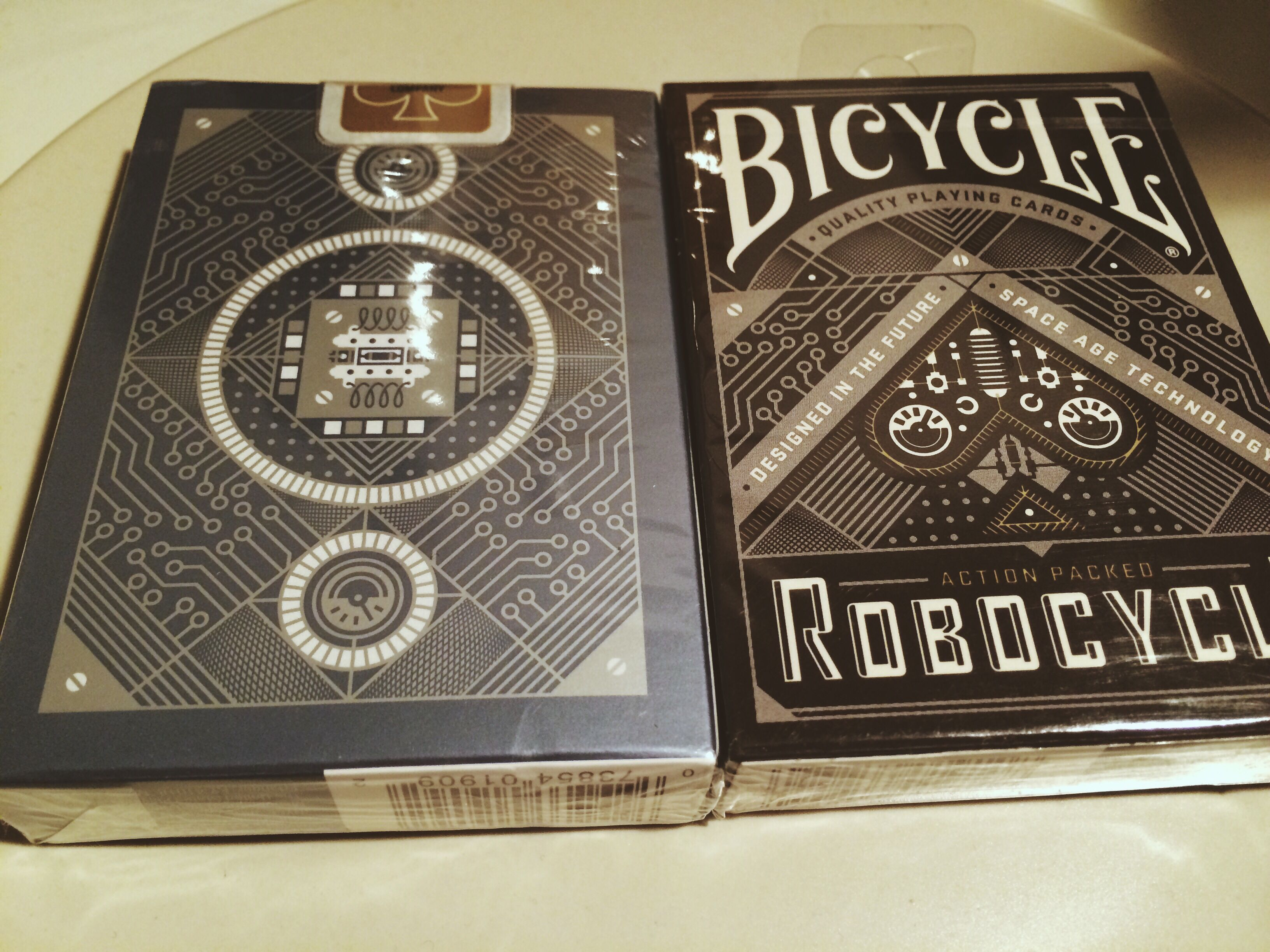 robocycle deck front & back