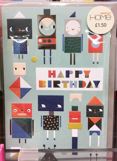 print & pattern: GREETINGS CARDS - sainsbury's home ...