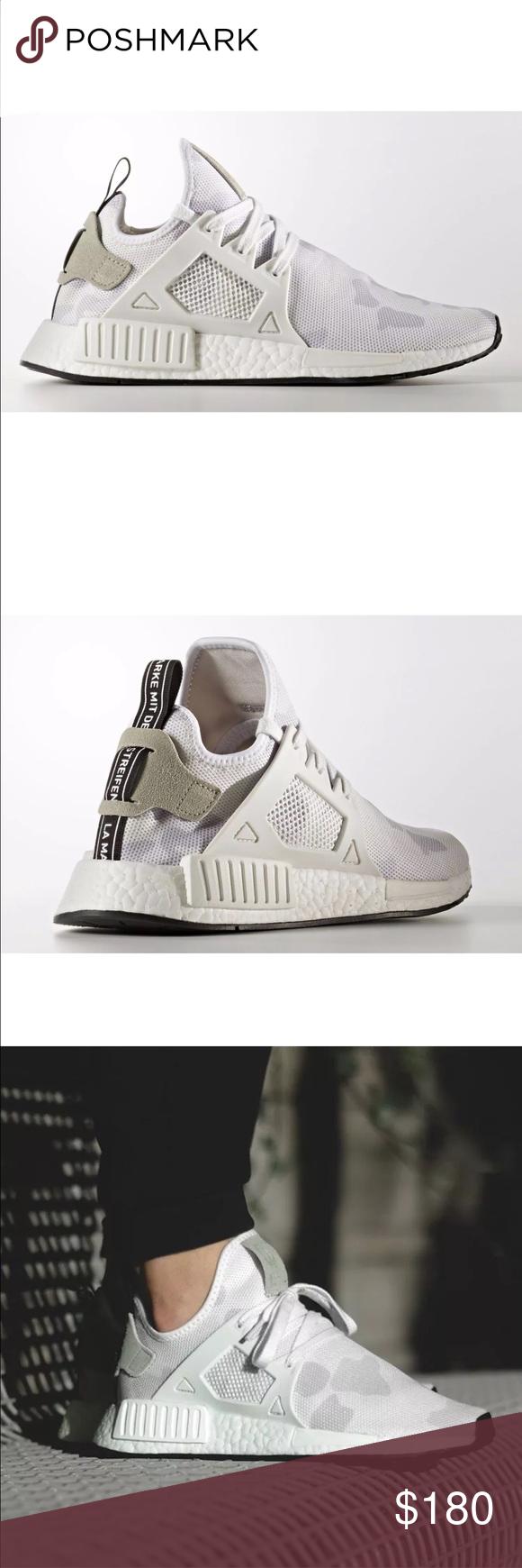 adidas nmd rx1 white mimetica nuova di zecca con scatola!le scarpe da ginnastica adidas