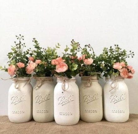 Spring Baby Shower Ideas For Girls Mason Jars 50 Ideas #baby #babyshower