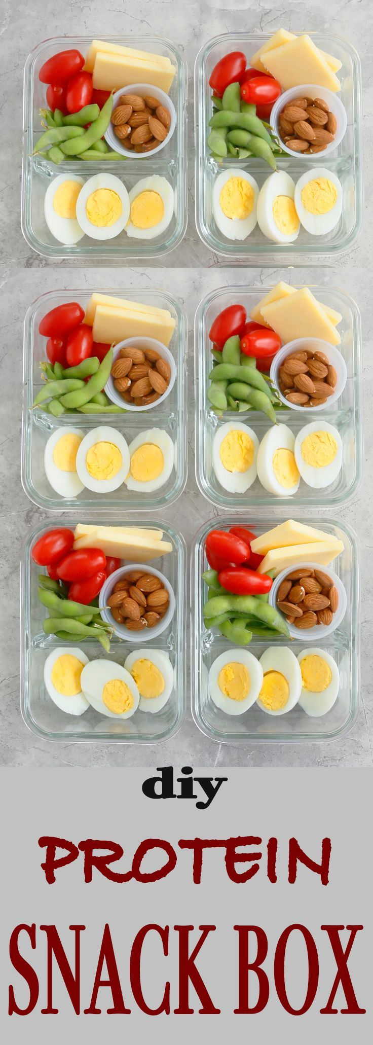 DIY Protein Snack Box Meal Prep - Kitchen @ Hoskins