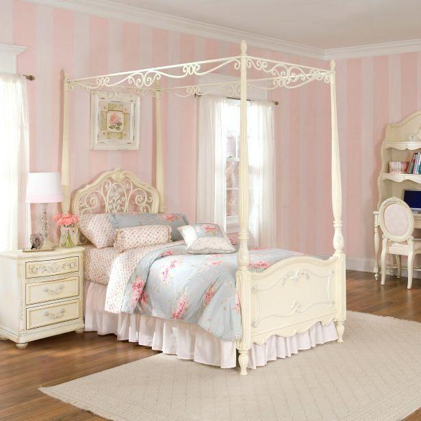White Bed Bedroom Light Blue Bedroom Curtains Young Mans Bedroom Furniture Ashley Furniture Black Bedroom Set: White Canopy Bedroom Set Medium Size Of Bedroom Girls