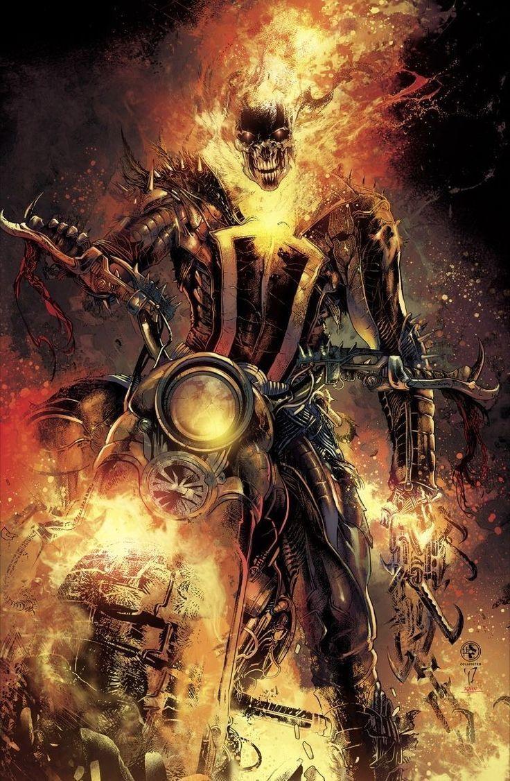 Ghost Rider The Spirit Of Vengeance Ghost Rider Wallpaper Ghost Rider Marvel Ghost Rider