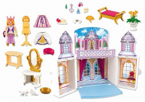 PLAYMOBIL My Secret Princess Castle Play Box Playset ...