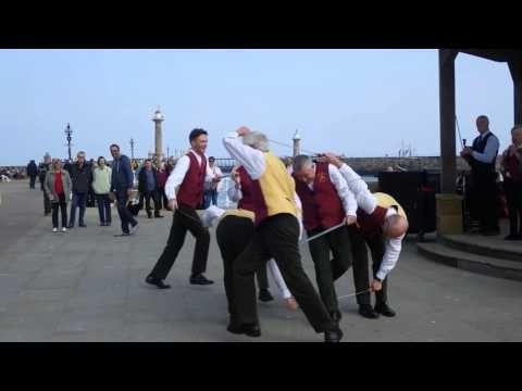 Sullivan's Sword dancing Helmsley in Whitby, Oct 2015 - YouTube