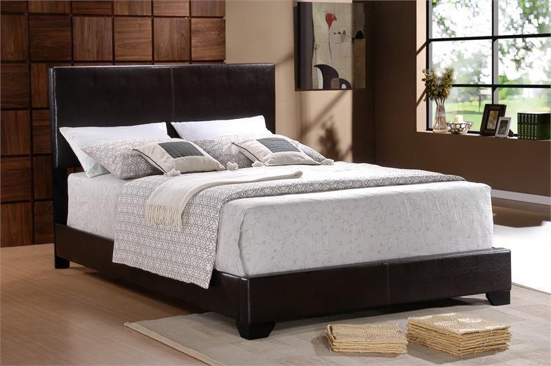 Universal Erin Bed Upholstered Bed Frame King Size Headboard