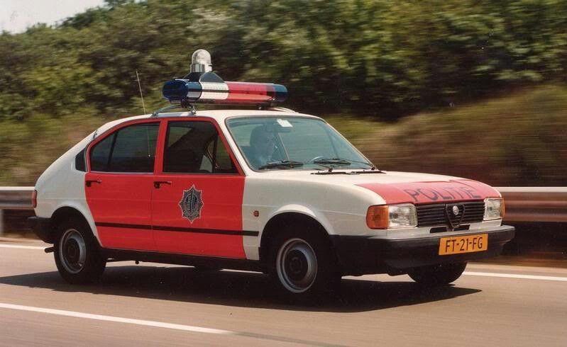 Alfasud  Dutch police