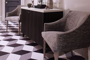 Cork Flooring for eco-friendly kitchen floor. 100% Cork oak wood tiles for & Cork Flooring for eco-friendly kitchen floor. 100% Cork oak wood ...