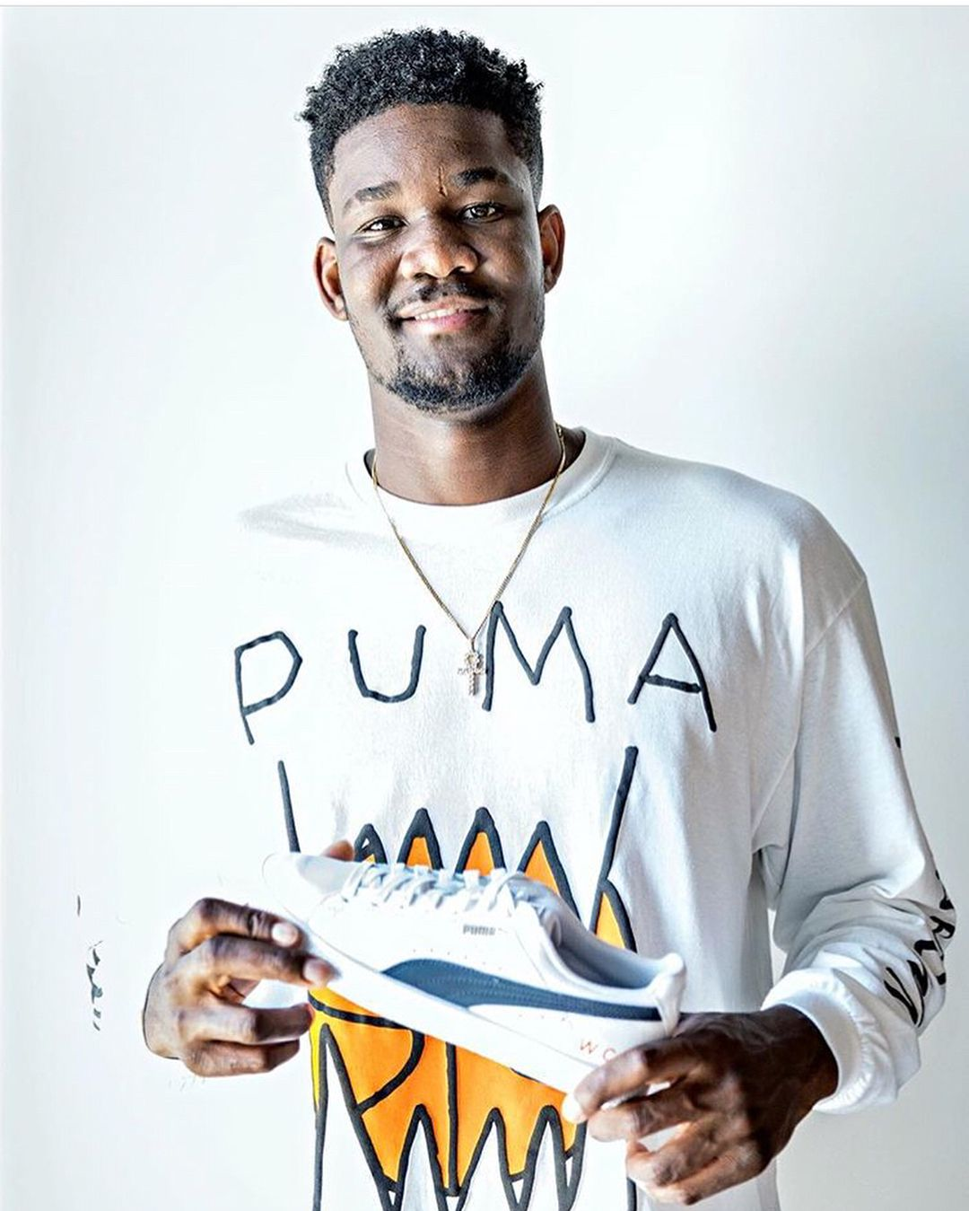 a22eaee35116 puma re-launched their basketball line with deandre ayton marvin bagley and  nba legend walt frazier and theyre also bringing on jay-z to serve as  president ...