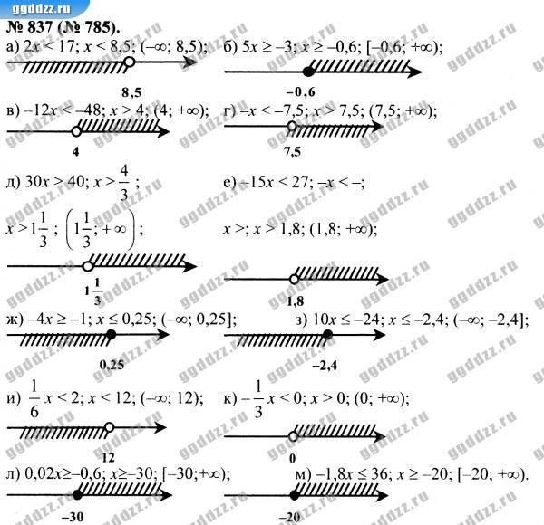 Решебник по алгебре 8 класс теляковский смотреть