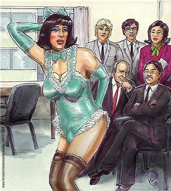 Feminization transsexual