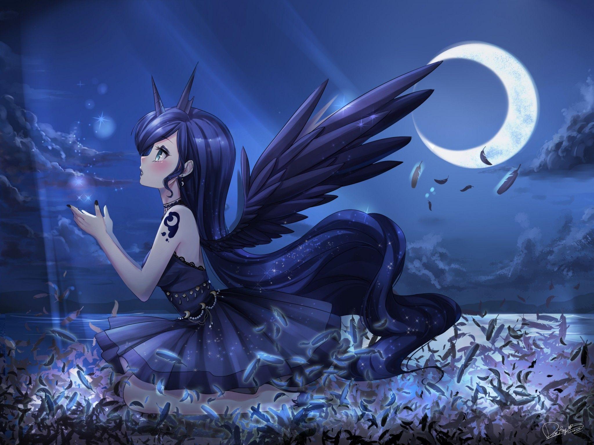 Princesa Luna Pony Anime Princesa Luna Luna Anime Imagenes