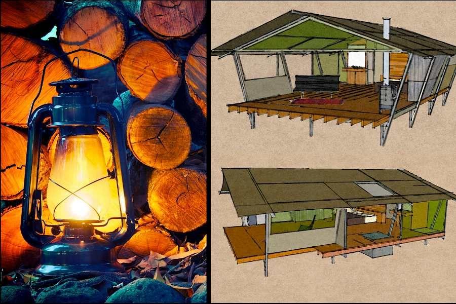 nightfall wilderness camp - luxury tent accommodation ...