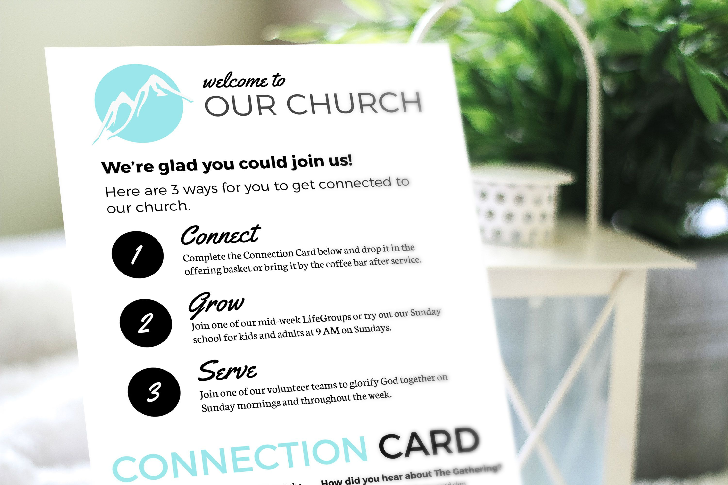 Free Design Template Connection Card Churchly Intended For Decision Card Template Templates Free Design Card Template Design Template