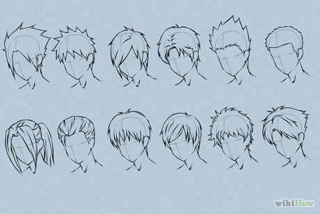Pin By Rosa Ortega On Manga Anime Drawing Tutorials Anime Drawing Styles How To Draw Hair Anime Hair
