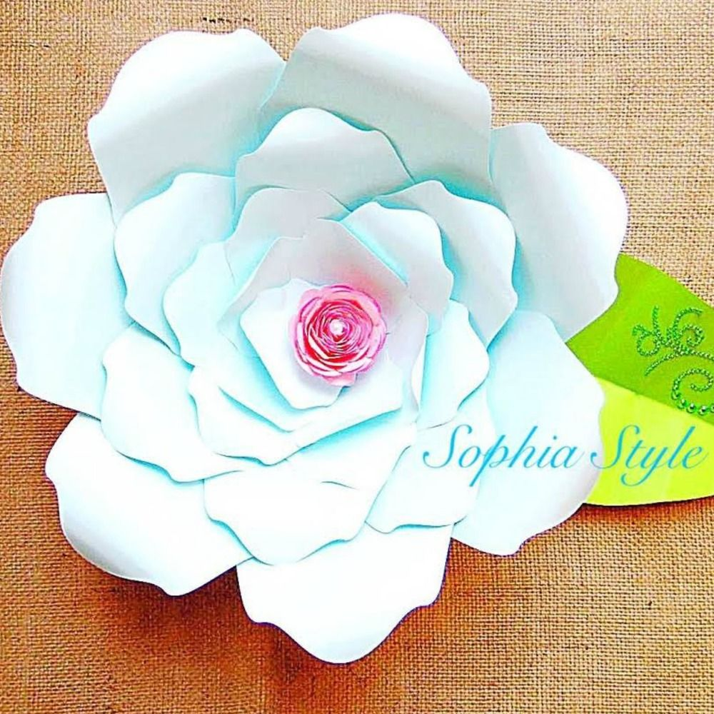 Sophia Style Giant Flower Templates Giant Flowers Template And Flower