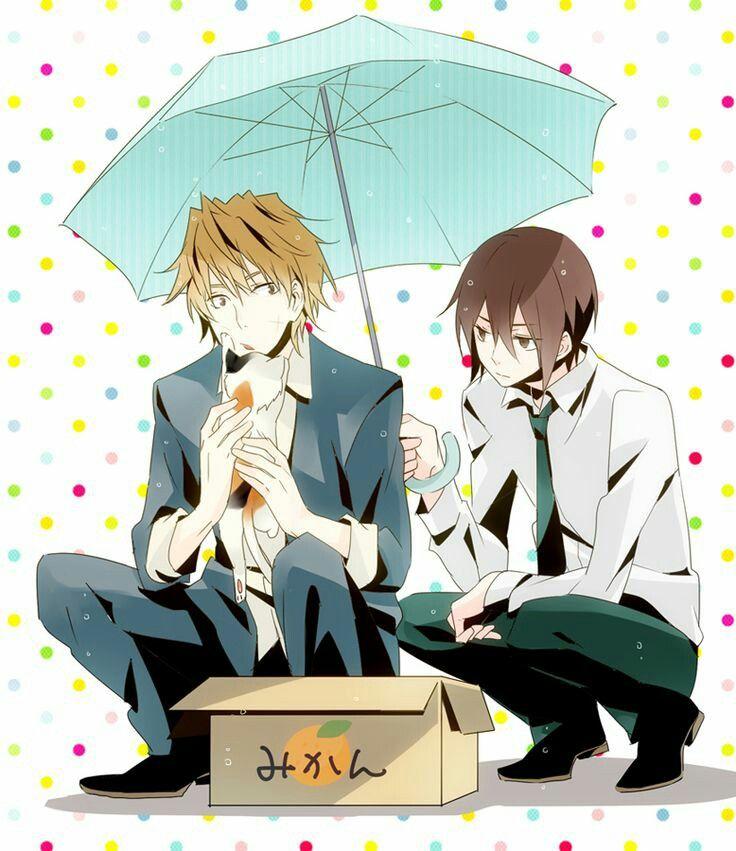 Shizuo and Kasuka