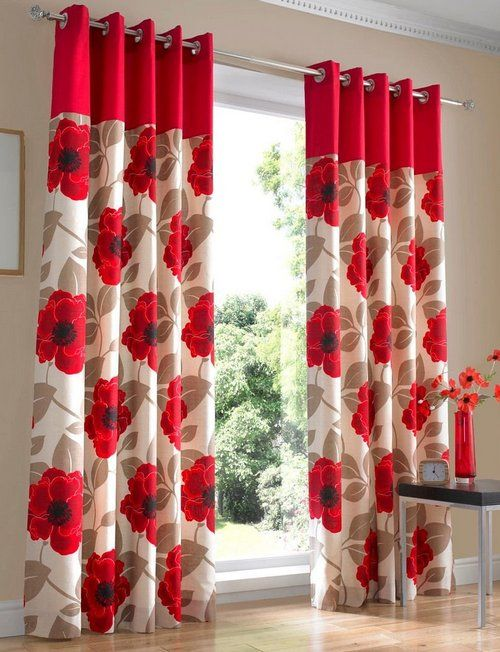 Red And White Curtains Omniwearhapticscom