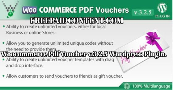Create A Voucher Stunning Woocommercepdfvoucher V.3.2.5 WordPressplugin Nulled A Create .