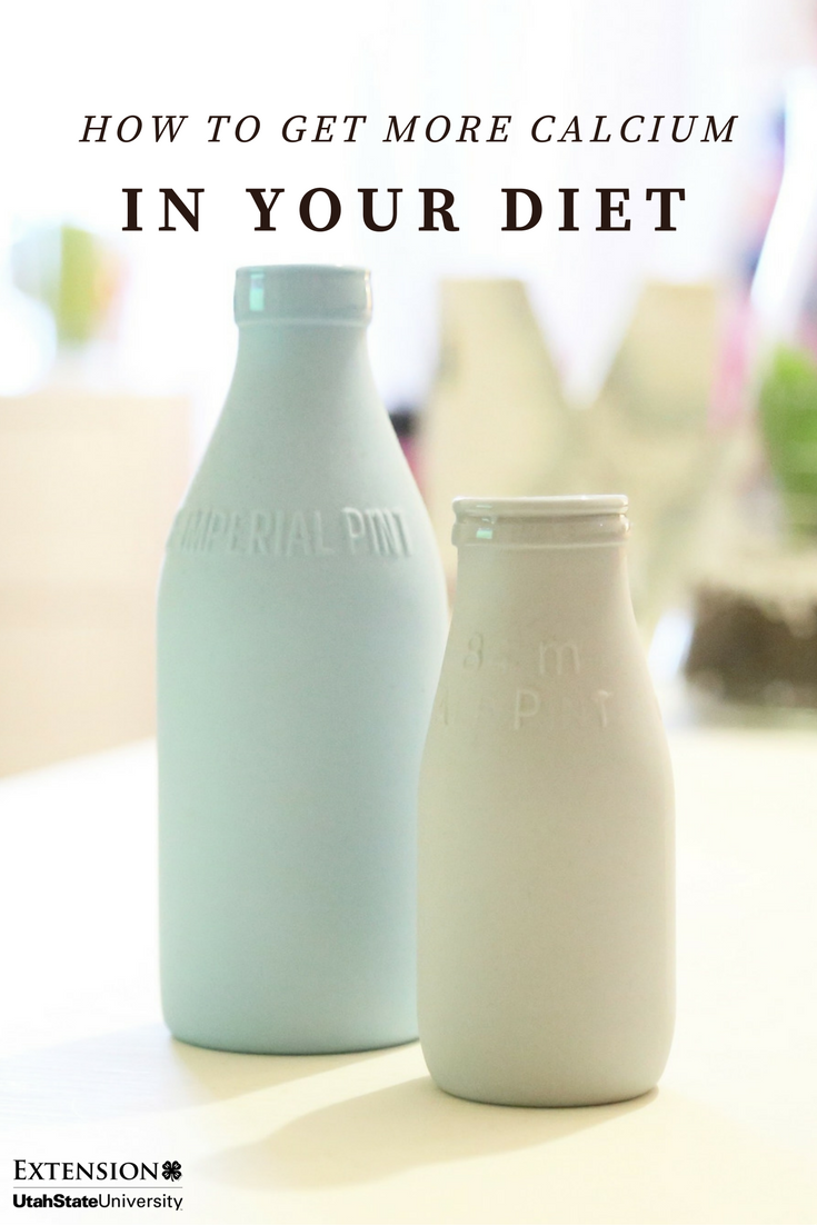 Need more calcium in your diet? You don't have to get it from a glass of milk.