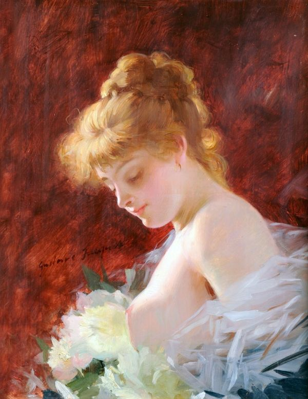 Paintings by French artist Gustave Jean Jacquet