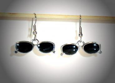Ohrringe Sonnenbrille Edelstahl Ohrhänger Metall Legierung Neuware