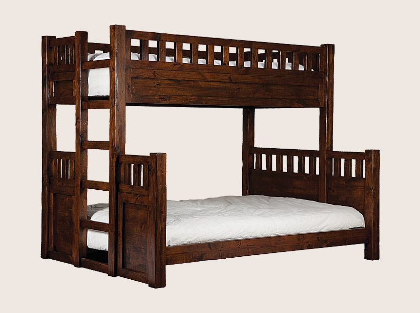 Wasatch Bedroom Collection: Wasatch Bunk Bed w/ Built-in Ladder ...