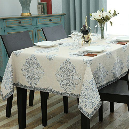Desktop Fabric Table Cloth Household Use Rectangle Home Tablecloth Table Cloth Fabrics Oblong Household Use B 90x90cm 35x35inch Home Decor Home Furniture