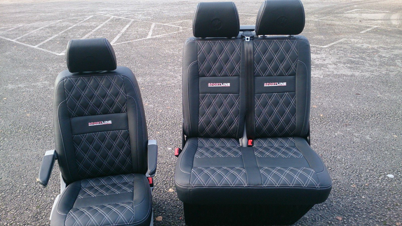 Vw Transporter T5 T6 Leather Seats 163 750 00 Leather Seat
