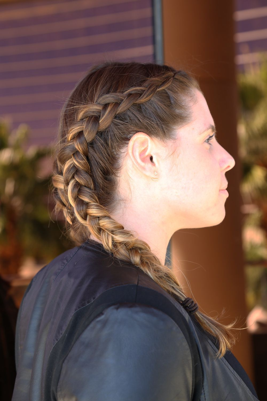 ¡The Beauty Effect se pone fit! Con este tutorial aprende paso a paso cómo crear unas bóxer braids perfectas para un look de fitness. #boxer Braids paso a paso Tutorial para hacer trenzas tipo Boxer Braids