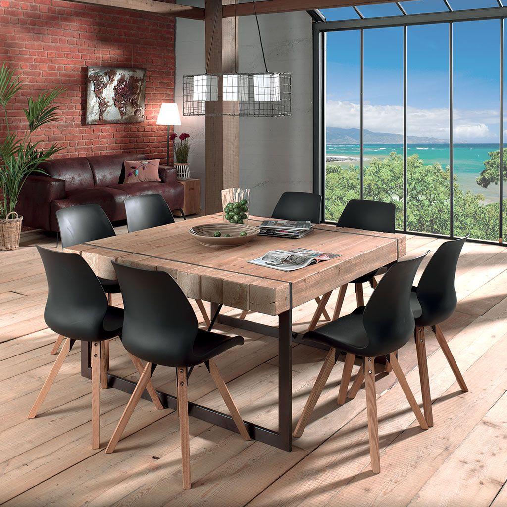 Table A Manger Carree table carrée fabrik en 2020 | salle à manger table carrée