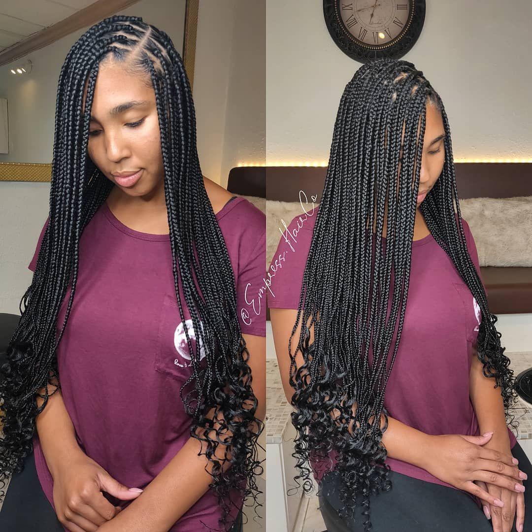 Knotless Goddess Box Braids 👑 @Empress.HairCo 🏆 Now BOOKING FOR ...