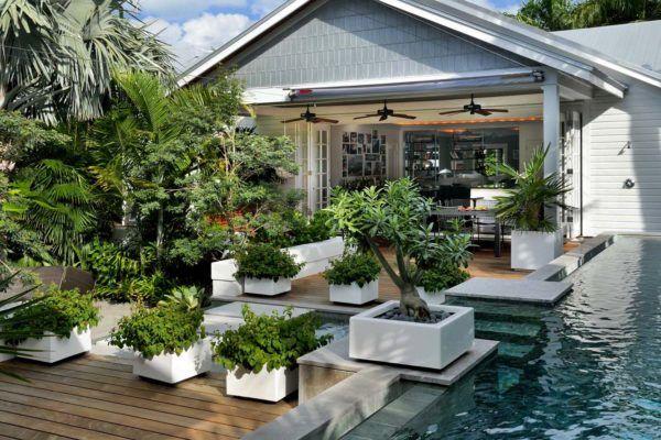 30 Amazing Beach Style Deck Ideas Promoting Relaxation Modern Garden Design Backyard Modern Garden