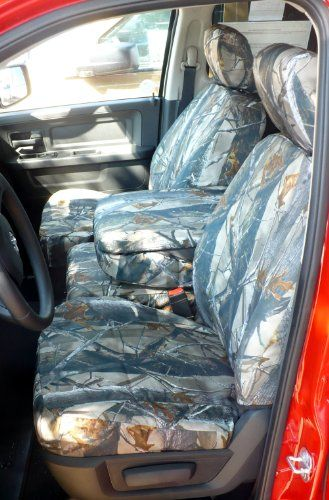 These Are Seat Covers That Are Designed To Fit Over The Existing Upholstery Of The 2009 2010 Dodge Ram 1500 Seat Covers Camo Truck Accessories Camo Seat Covers