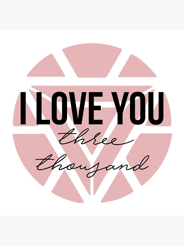 I Love You Three Thousand 3000 Stickers By Lyndseymm Redbubble My Love Love You Cute Couple Wallpaper