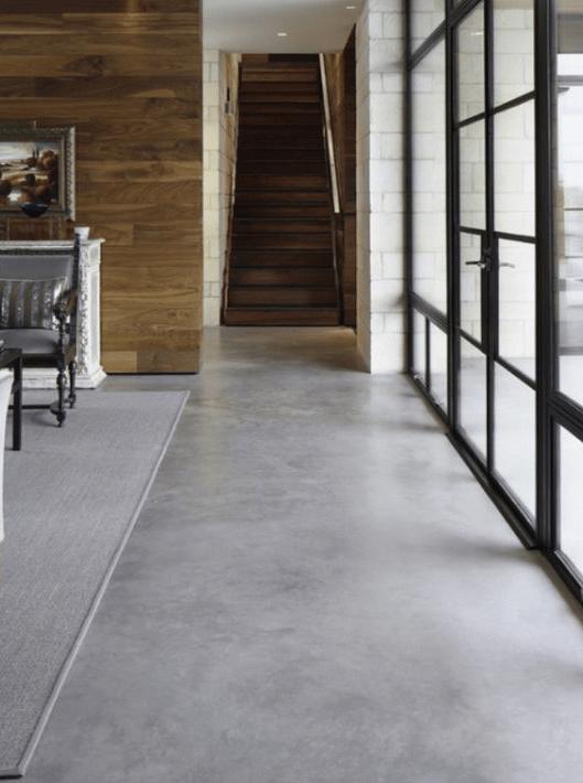 Microtopping Floor Epoxy Floor Concrete Floors Epoxy Concrete Floor