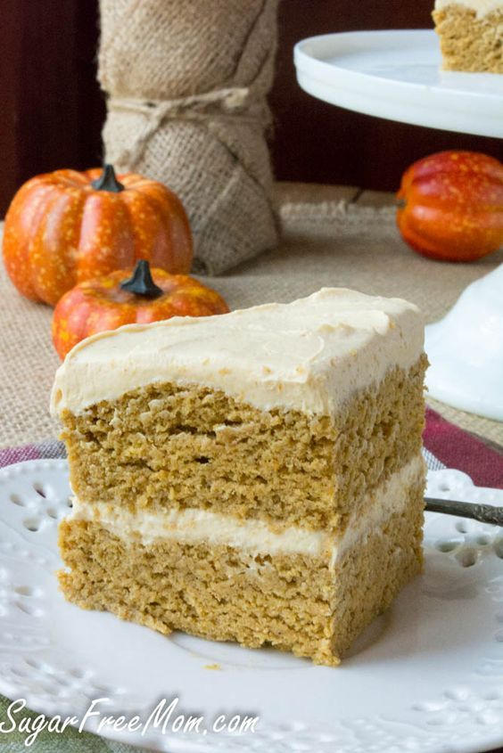 Sugar-Free Pumpkin Spice Maple Cream Layered Mug Cake ...