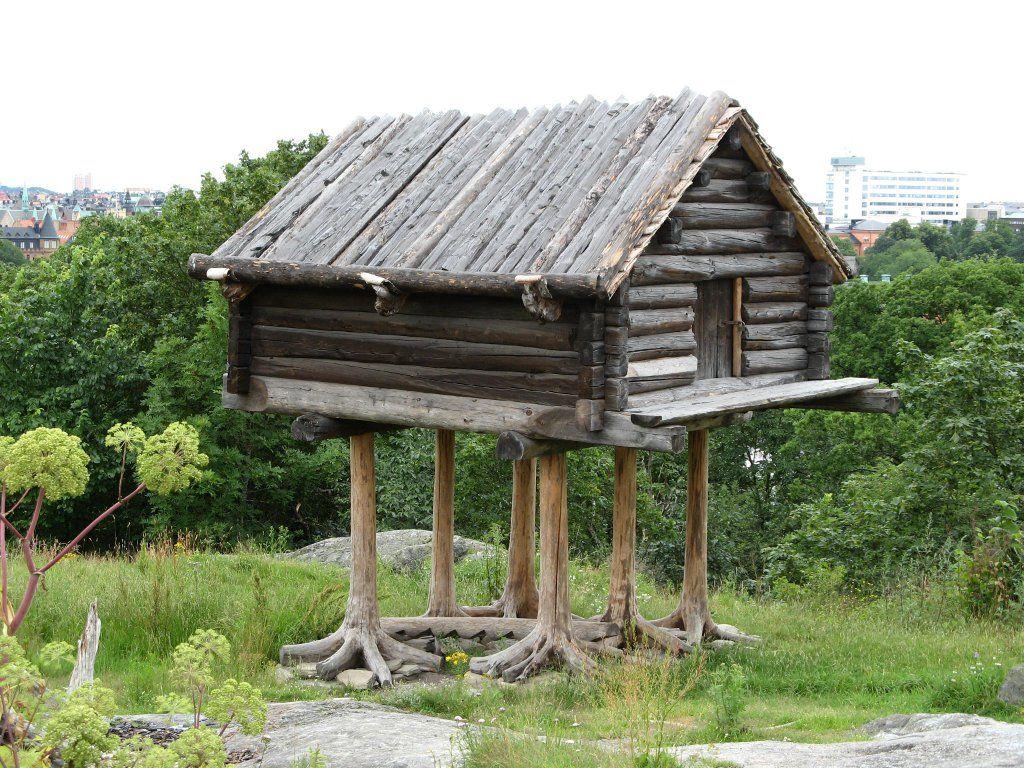 A Prague, la maison de Baba-Yaga (presque) en kit | Log cabins ...