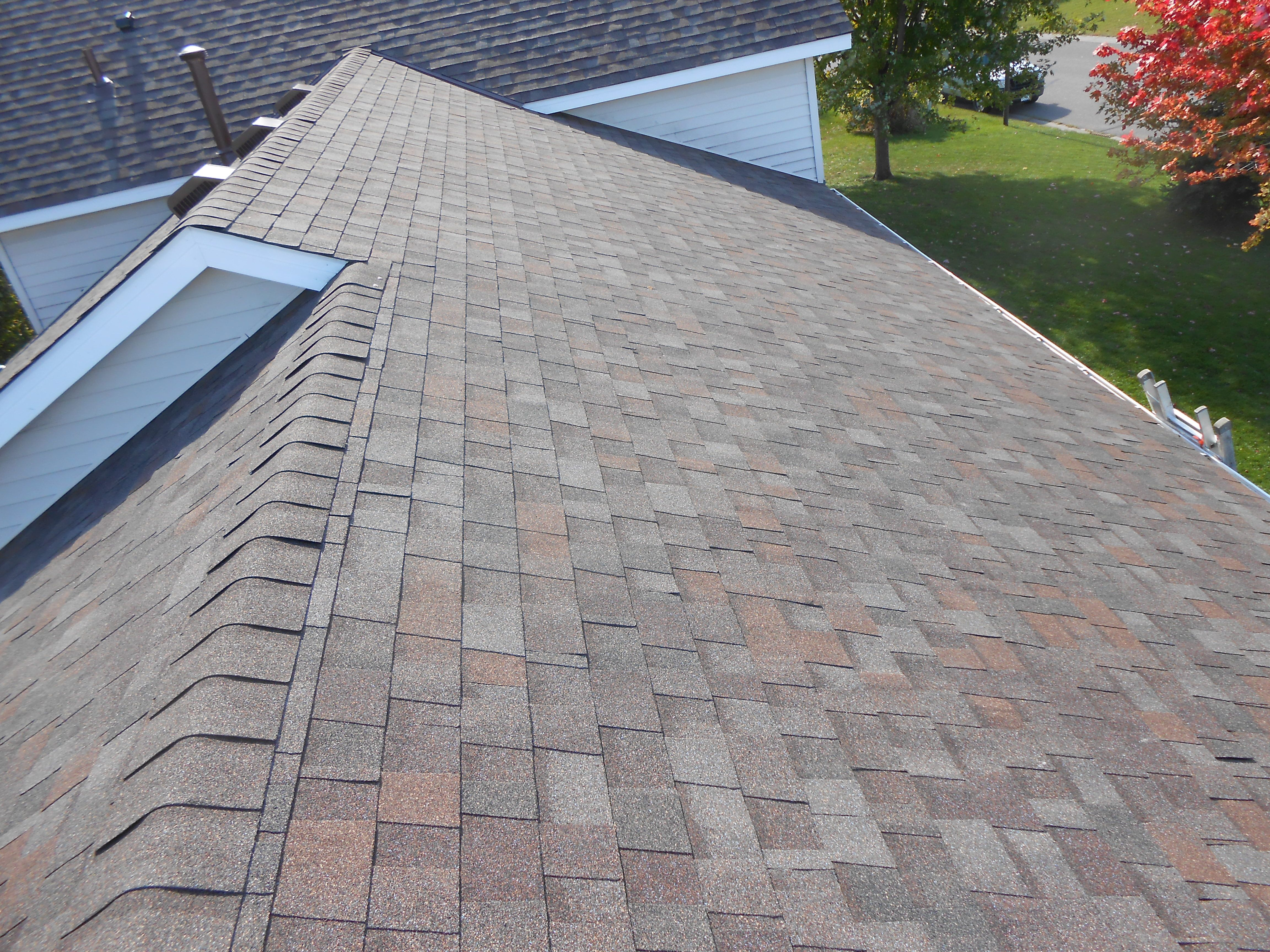 Asphalt Shingle Roof In Rockford Mn Owens Corning Flagstone