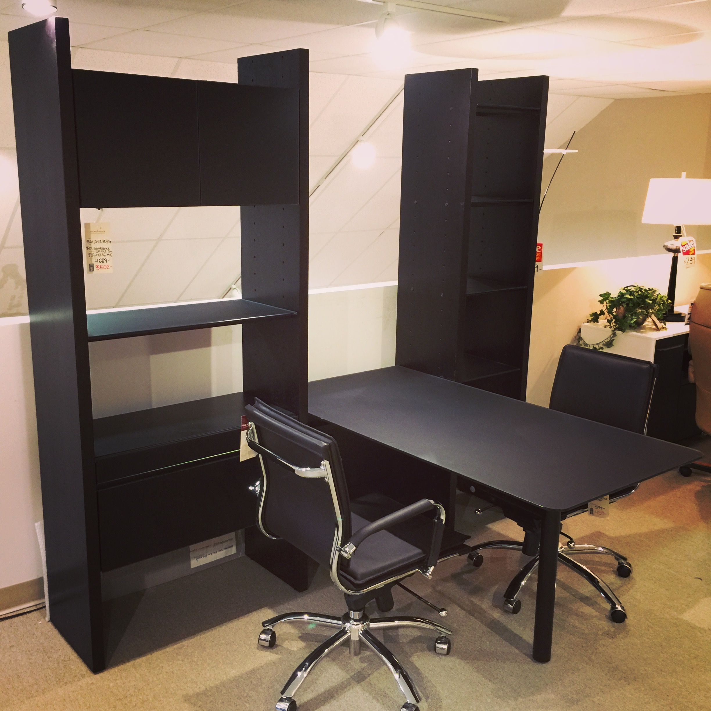 BDI Semblance office system Scandinavia inc. contemporary modern furniture  New Orleans Louisiana Metairie