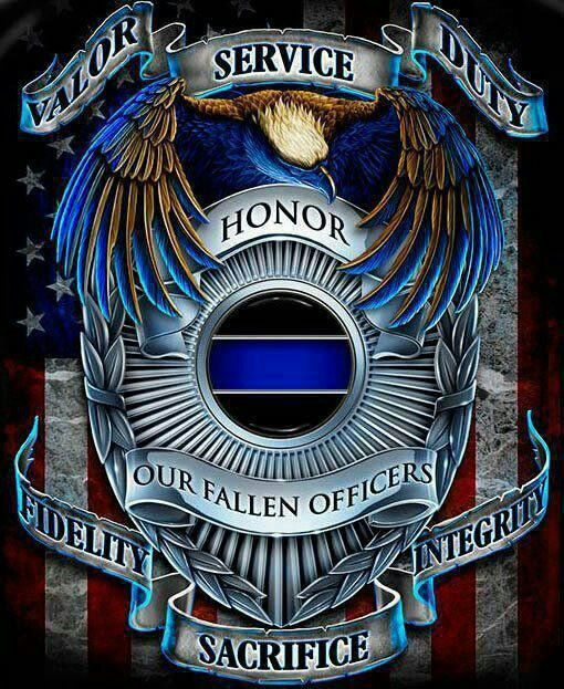 Honoring Our Fallen Heroes In Memory Of Pinterest Police Law