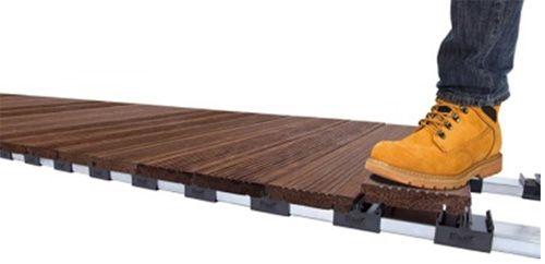 Home Hardwood Decking Green Roof System Composite Decking
