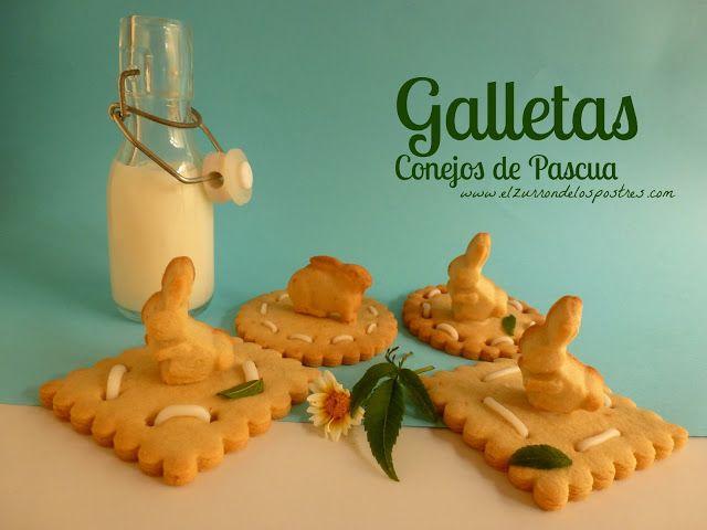 Galletas Conejo de Pascua 2013