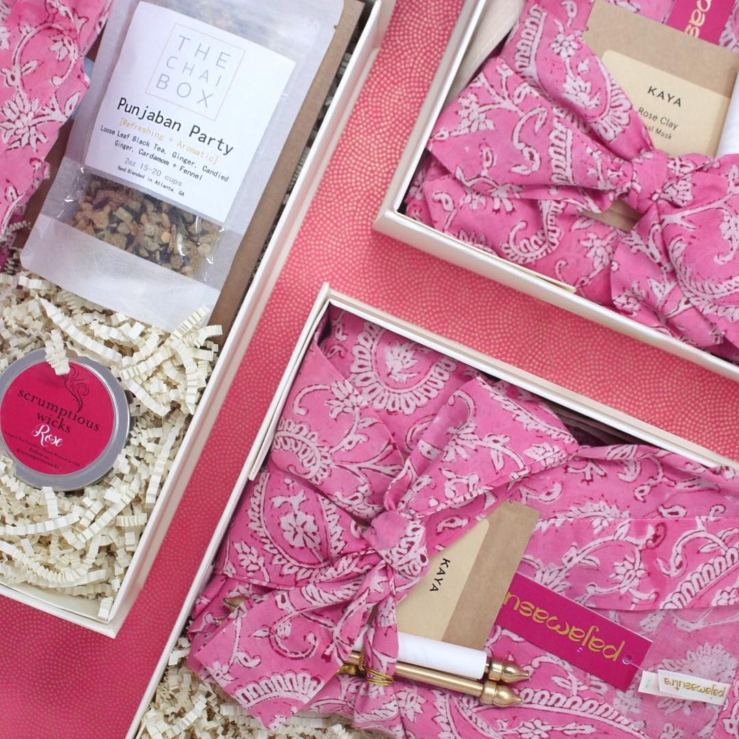 Custom Bridesmaid Gift Boxes For Indian Weddings By Pajamasutra