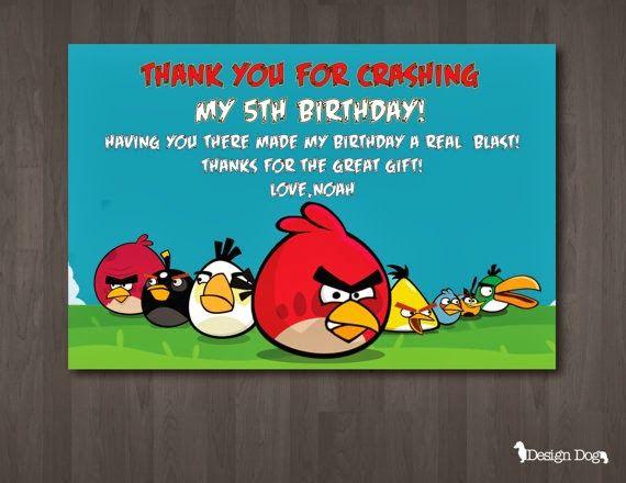 Etsy Angry Bird Birthday Party Bird Birthday Parties Bird Birthday Invitations Bird Birthday