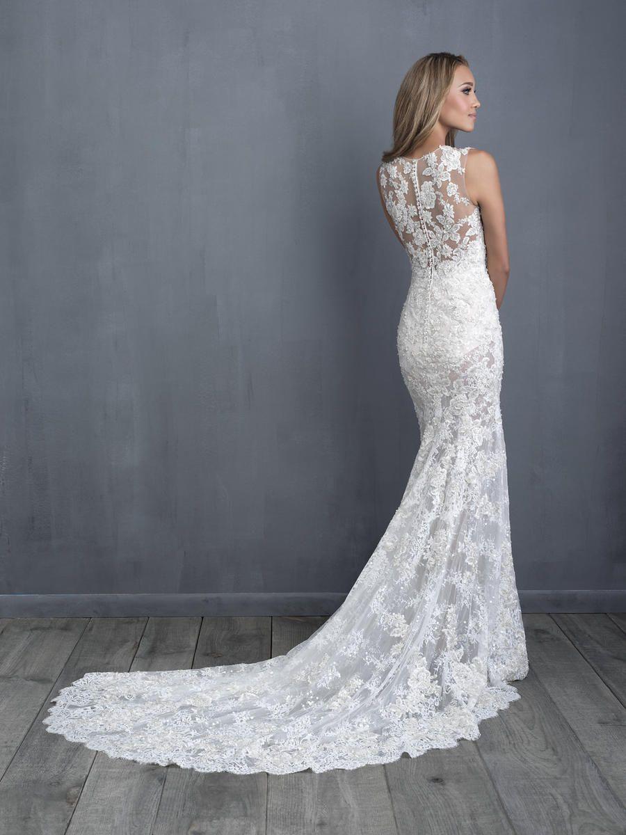 Allure Bridals Couture Dress C480 Terry Costa Allure Bridal