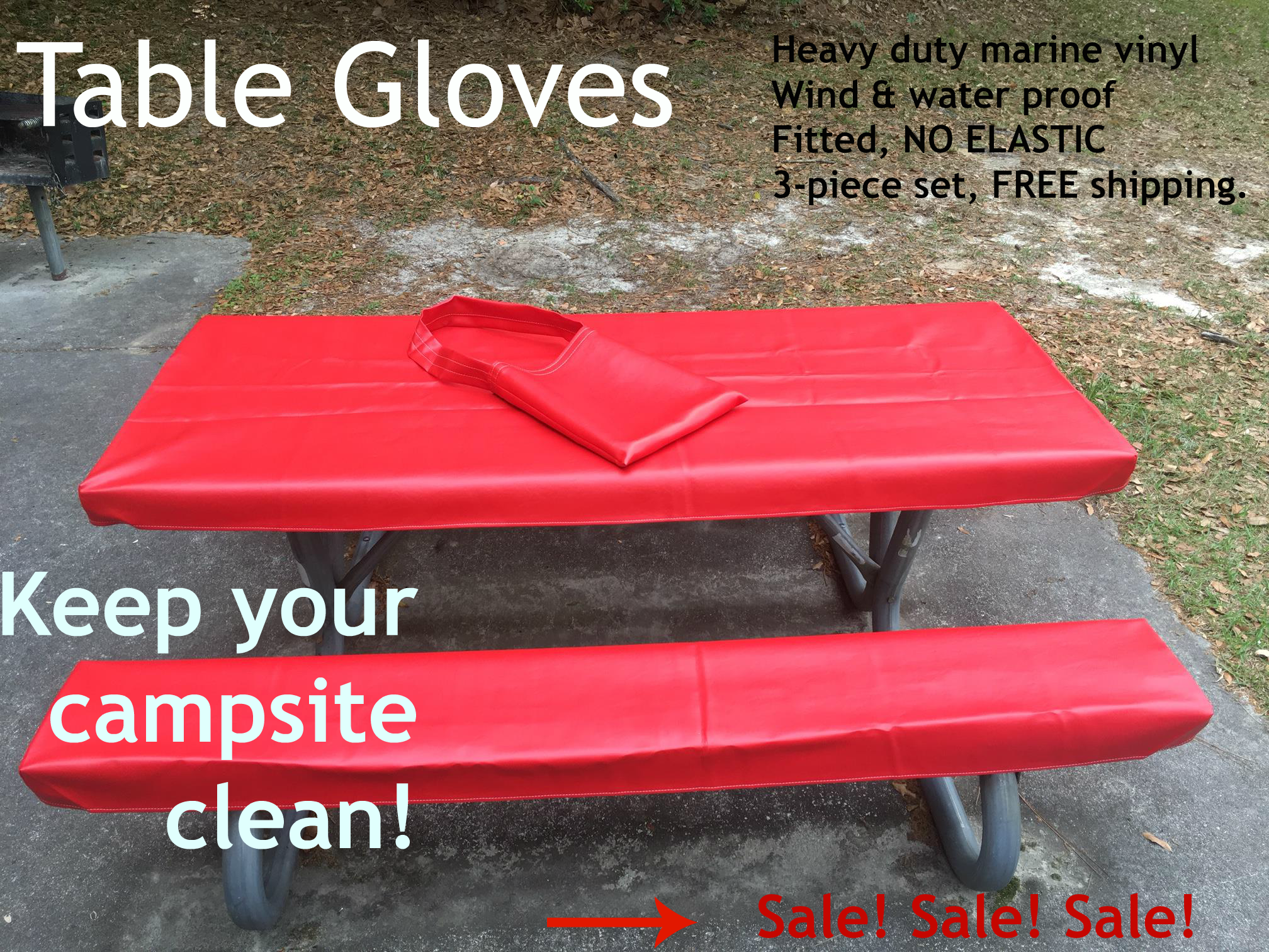 Select colors on sale! We know this is the best picnic table cover ...
