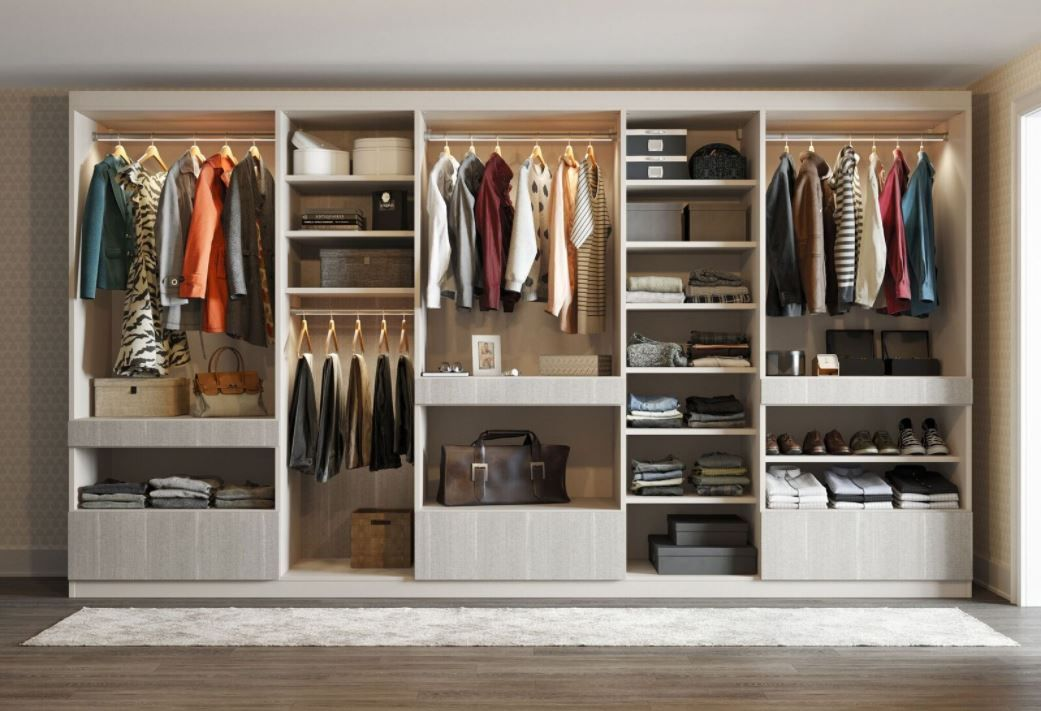 Custom Wardrobe Design Wardrobe Storage Systems California
