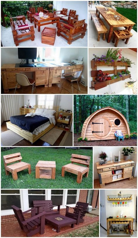 useful and easy diy ideas to repurpose old pallets wood on useful diy wood project ideas beginner woodworking plans id=57081
