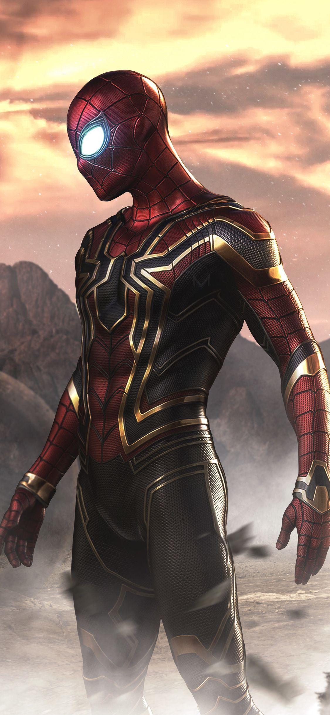 Wallpaper Spiderman Far From Home Hd Ios Or Os 2019 3d In 2020 Die Racher Spiderman Kunst Marvel Superhelden